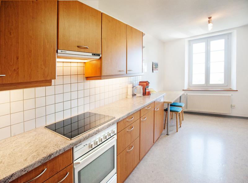 Berghof Hallau Ferienwohnung Küche