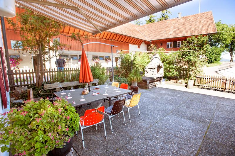 Berghof Hallau Ferienwohnung Garten
