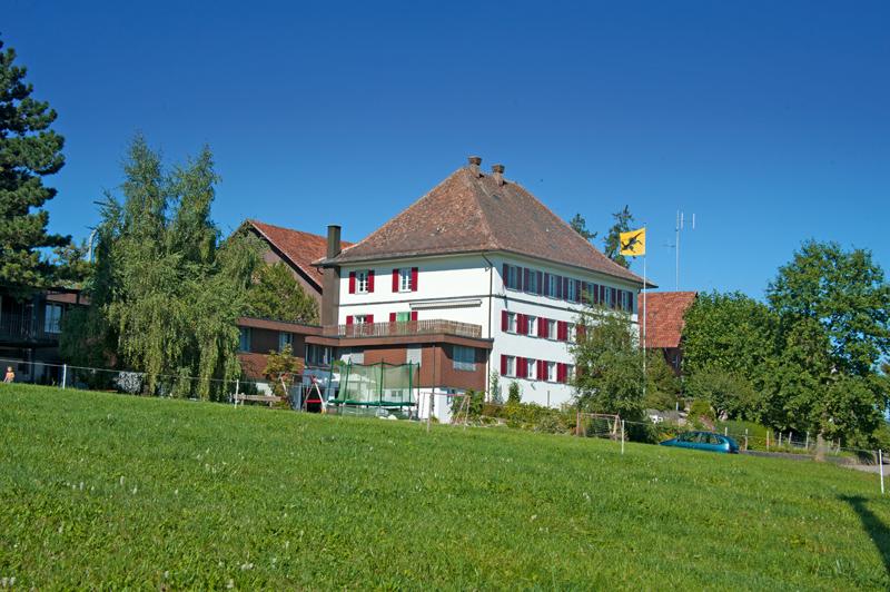 Berghof Hallau Ferienwohnung Gebäude