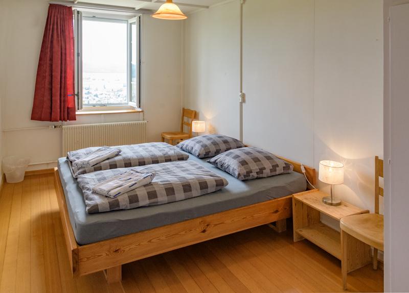 Berghof Hallau Ferienwohnung Schlafzimmer
