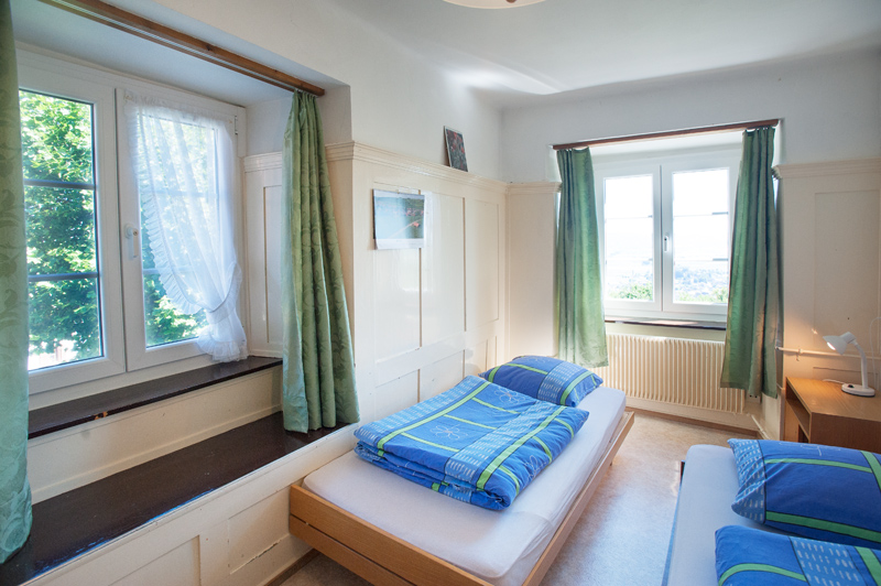 Berghof Hallau Gruppenhaus Schlafzimmer