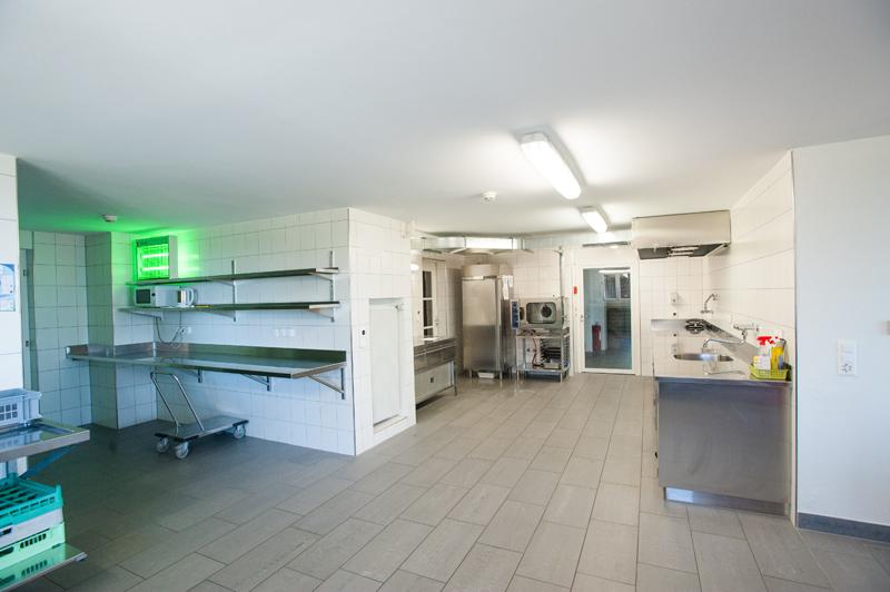 Berghof Hallau Gruppenhaus Küche