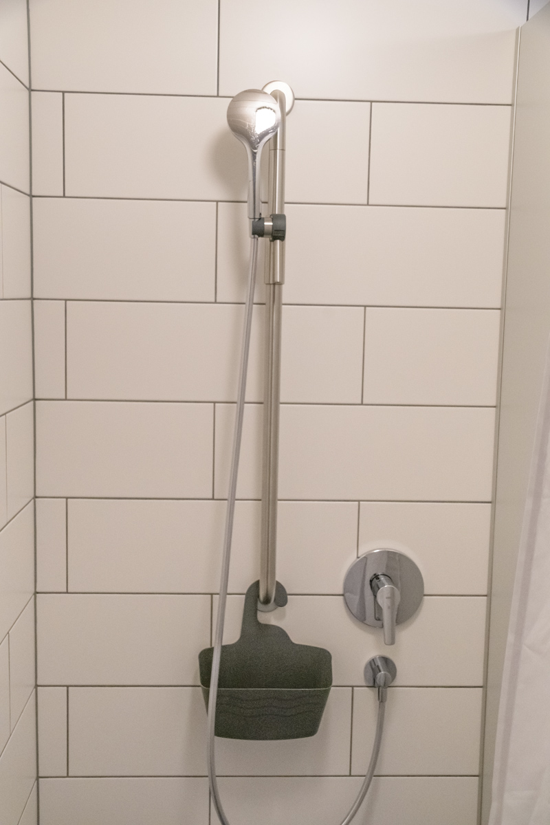 Berghof Hallau Gruppenhaus Dusche