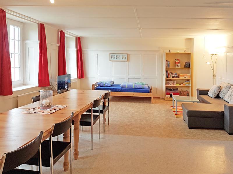 Berghof Hallau Ferienwohnung Wohnzimmer
